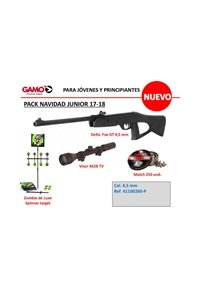 GAMO CHRISTMAS PACK: JUNIOR 17-18
