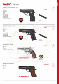 GAMO RED ALERT CO2 GUNS