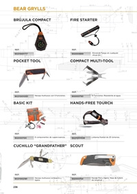 camping and survival  BEAR GRYLLS ACCESSORIES
