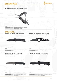 tactical knives  ESSENTIAL GERBER KNIVES