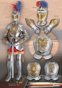swords armours ARMORS S XVI 2