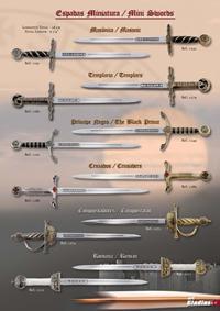 GLADIUS LETTER OPENER MINI SWORDS GLADIUS