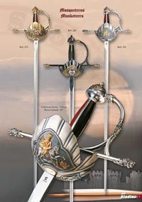 GLADIUS MUSKETEERS SWORDS