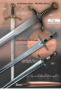 swords  BLACK PRINCE SWORDS AND GRAND MASTER