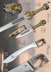 GLADIUS SWORDS TUTANKAMON AND FALCATA IBERA