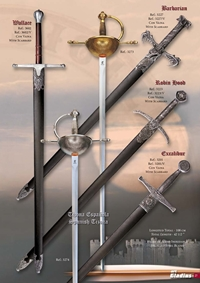 GLADIUS SWORDS WALLACE ROBIN HOOD EXCALIBUR