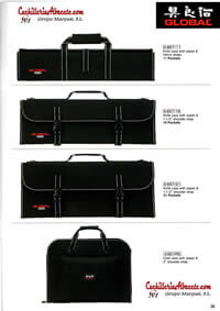 professional knives blankets and bags KNIVES BRIEFCASES GLOBAL