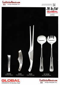 kitchen utensils table cutlery KITCHEN ACCESSORIES GLOBAL