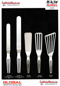 professional knives cook GLOBAL SPATULA 2