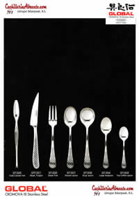 GLOBAL GLOBAL SPOON FORK KNIFE