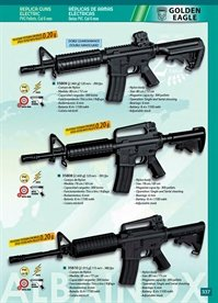 airsoft fuzis electrico ARMAS ELECTRIC