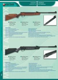 HATSAN COMPRESSED AIR RIFLES