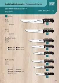 professional knives  BUTCHER SERIES PROFESSIONAL KNIVES
