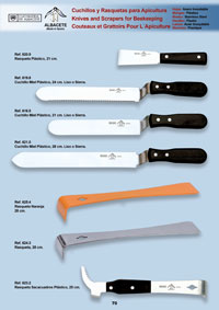 professional knives  PLASTIC BEEKEEPING KNIVES