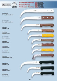 professional knives  BANANA KNIVES