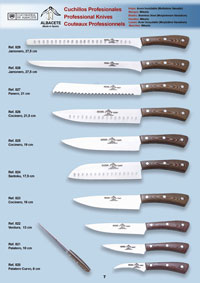 professional knives  MIKARTA PROFESSIONAL KNIVES