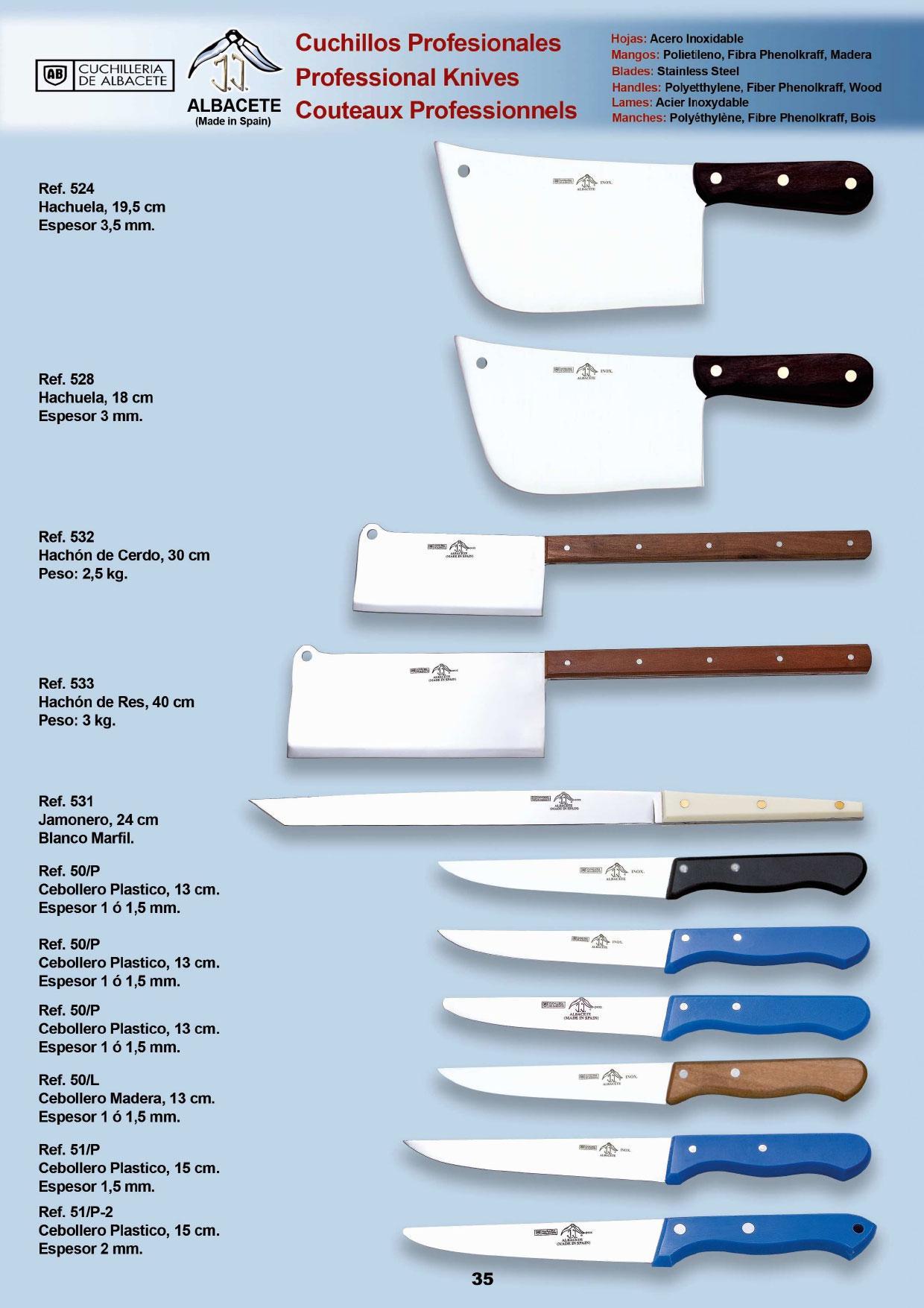 cuchilleria profesional cocinero cuchillos y utiles On cuchilleria profesional cocina