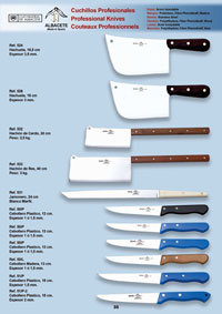 professional knives cook KNIVES AND KITCHEN UTENSILS