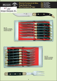 TABLE KNIVES CASE