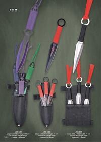 JKR THROWING KNIVES