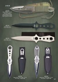 JKR THROWING KNIVES