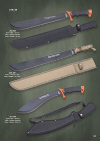 tactical knives  MACHETES