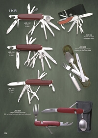 JKR MULTI-PURPOSE CAMPING KNIVES