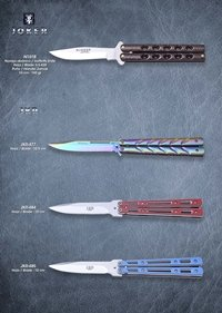 JKR BUTTERFLY KNIVES