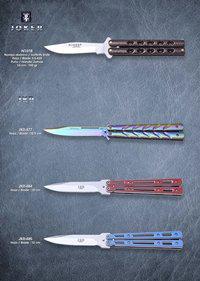 JKR BUTTERFLY KNIVES