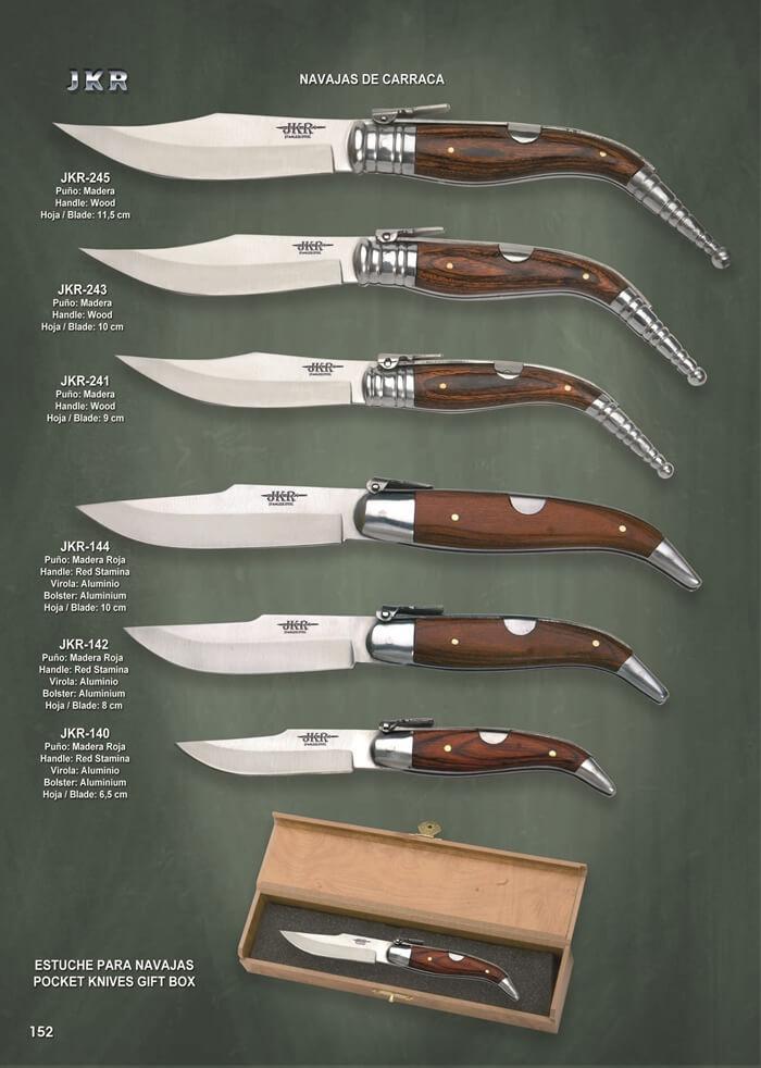 Navajas Carraca Pocketknives Classic Spain Ratchets