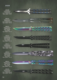 JKR BUTTERFLY KNIVES JKR 2