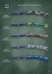 JKR NON LOCKING FOLDING KNIVES