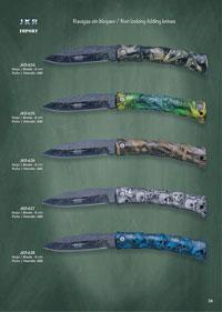 JKR NON LOCKING FOLDING KNIVES