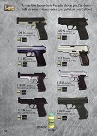 airsoft spring rifles SPRING PISTOLS