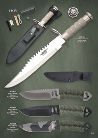 JKR TACTICAL KNIVES