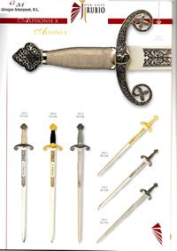 swords SWORDS ALFONSO X 2