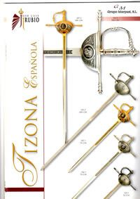 swords SWORDS TIZONA SPANISH