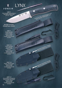 tactical knives survival BS9 LYNX