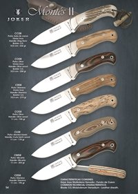 hunting knives  MONTES II
