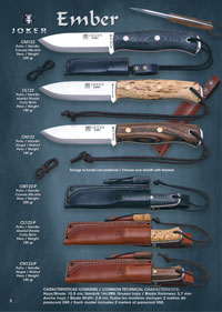 couteaux chasseurs couteaux de chasse EMBER