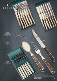 kitchen utensils table cutlery MENAJE LUXE