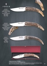 pocketknives hunting SERRANA FOLDING KNIVES 3