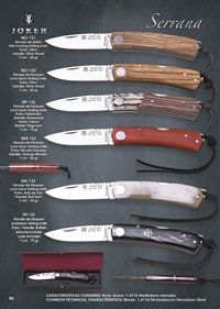 pocketknives hunting SERRANA FOLDING KNIVES
