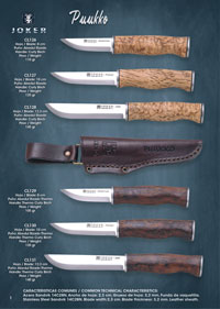 couteaux chasseurs PUUKKO