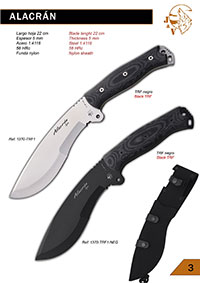 tactical knives  ALACRAN JV