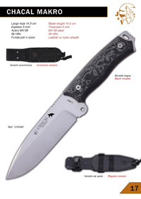 hunting knives  CHACAL MAKRO