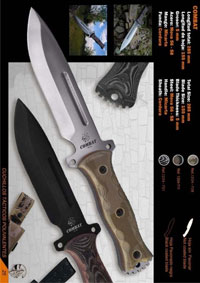 CUCHILLO SUPERVIVENCIA COMBAT