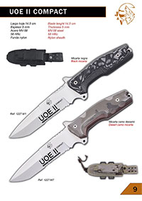 tactical knives  UOE II COMPACT KNIVES