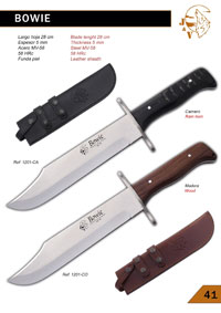 hunting knives  BOWIE KNIVES