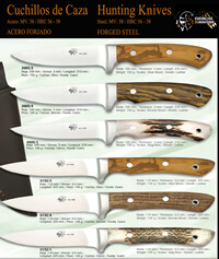 COUTEAUX CHASSE ARTISANS